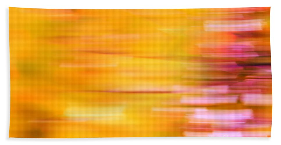 Orange Bath Sheet featuring the photograph Rectangulism - S07a by Variance Collections