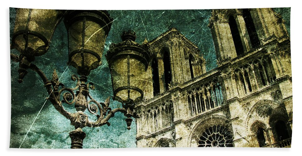 Architecture Bath Sheet featuring the photograph Reinvented History by Andrew Paranavitana