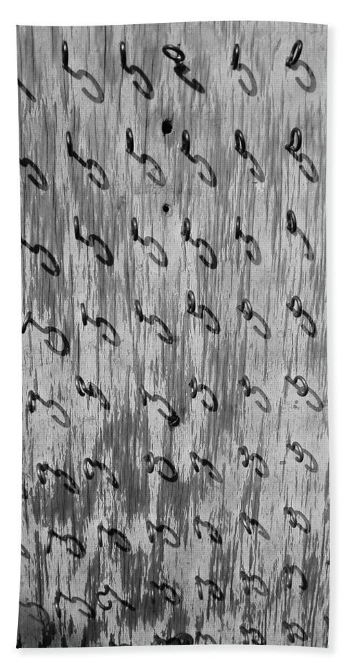 Repetition Bath Sheet featuring the photograph Repetition To Variation 1b by Xueling Zou