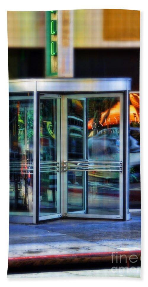 Door Bath Sheet featuring the photograph Revolving Doors by Jill Battaglia