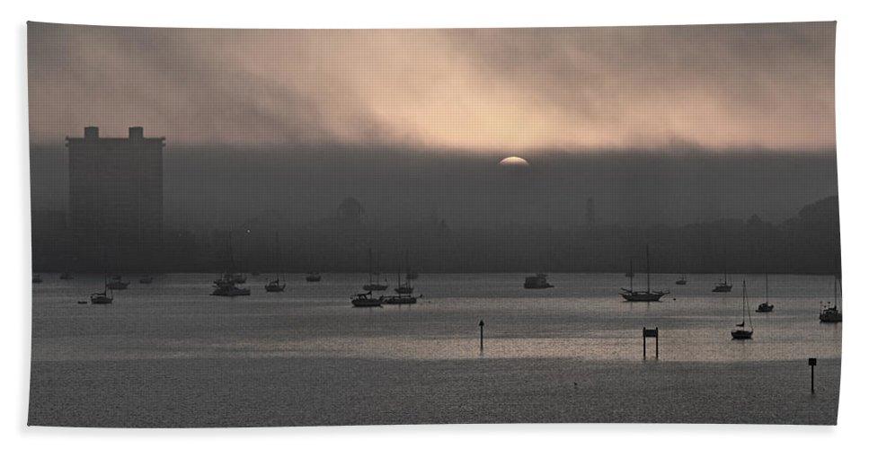 Sarasota Bath Sheet featuring the photograph Ringling Bridge Good Morning by Betsy Knapp
