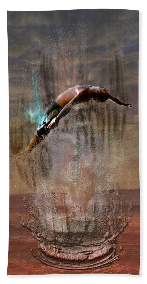 Water Bath Sheet featuring the photograph Rise by Shirley Tinkham
