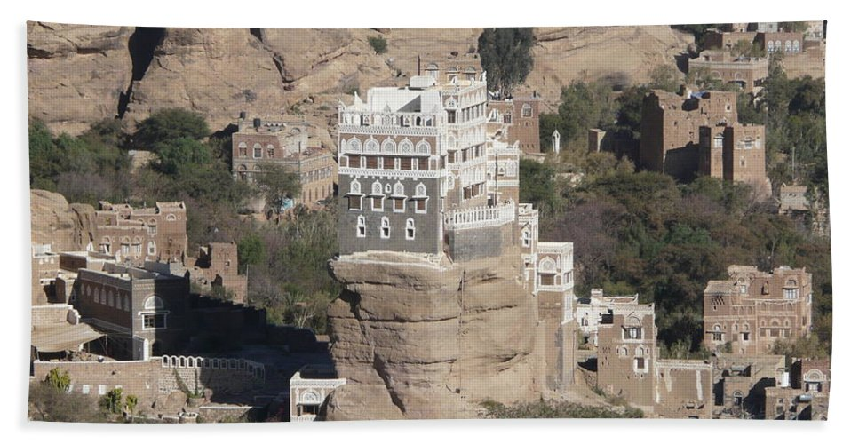 Rock Hand Towel featuring the photograph Rock Palace by Ivan Slosar