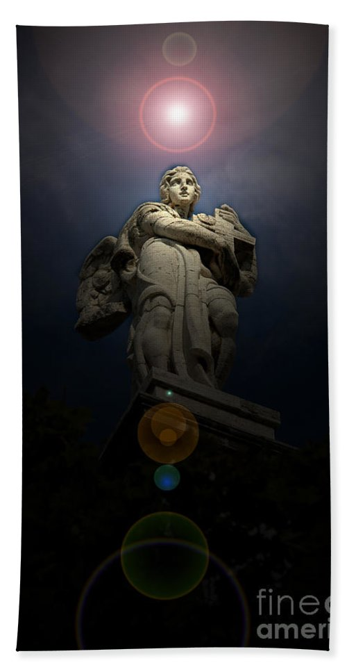 Rome Bath Sheet featuring the photograph Roman Statue 2 Roman Italy by Mike Nellums