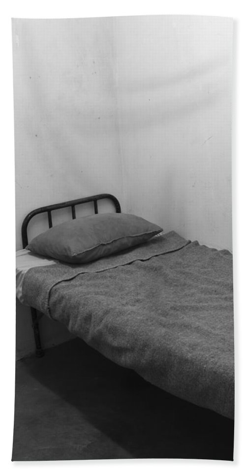 Robben Island Hand Towel featuring the photograph Room For A Bed by Aidan Moran