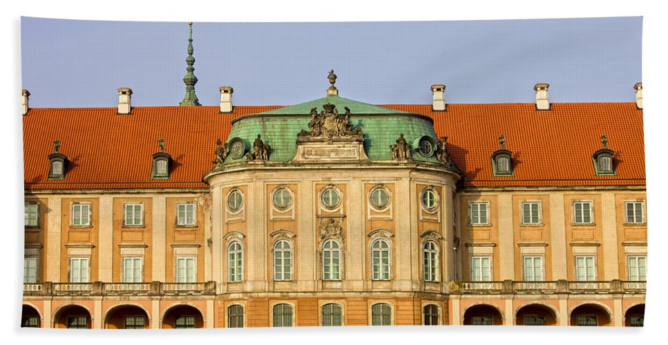 Warsaw Bath Sheet featuring the photograph Royal Castle In Warsaw by Artur Bogacki
