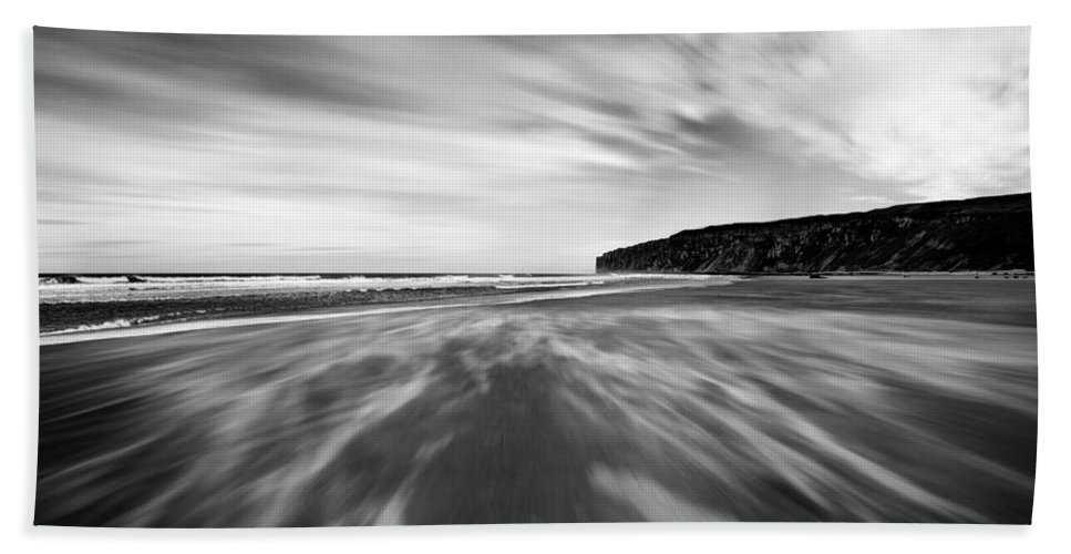 Bay Bath Sheet featuring the photograph Sand by Svetlana Sewell