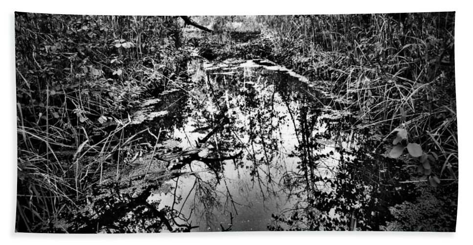 Street Photographer Bath Sheet featuring the photograph Sandy Creek by The Artist Project