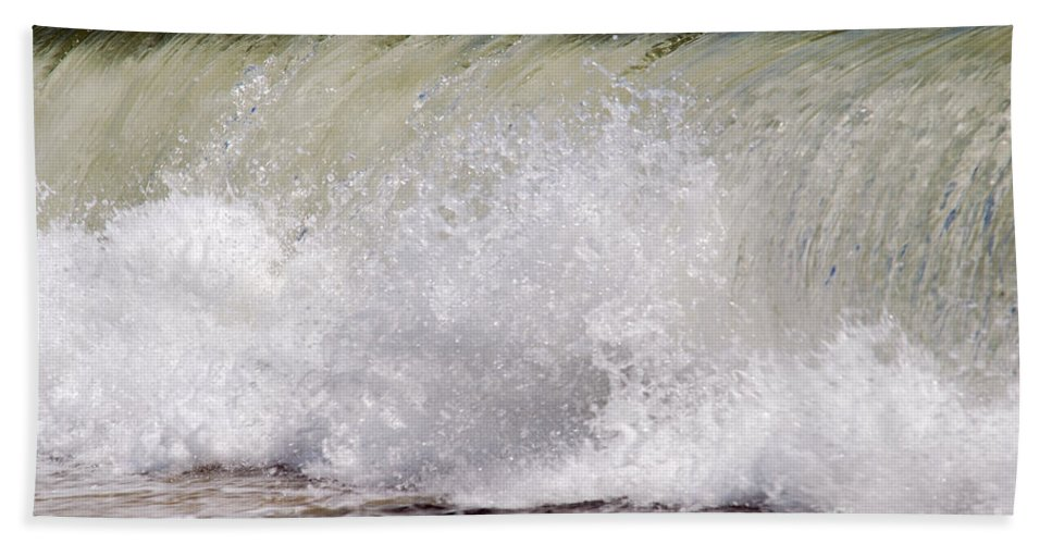 Beach Bath Sheet featuring the photograph Seascape 93 by Terri Winkler