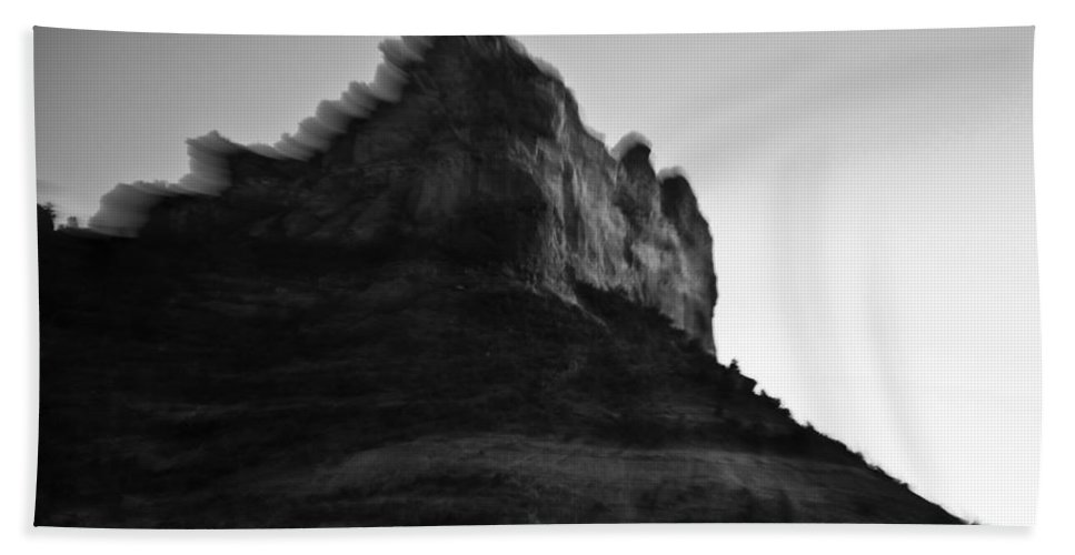 Rocks Bath Sheet featuring the photograph Sedona Rock Zoom by Scott Sawyer