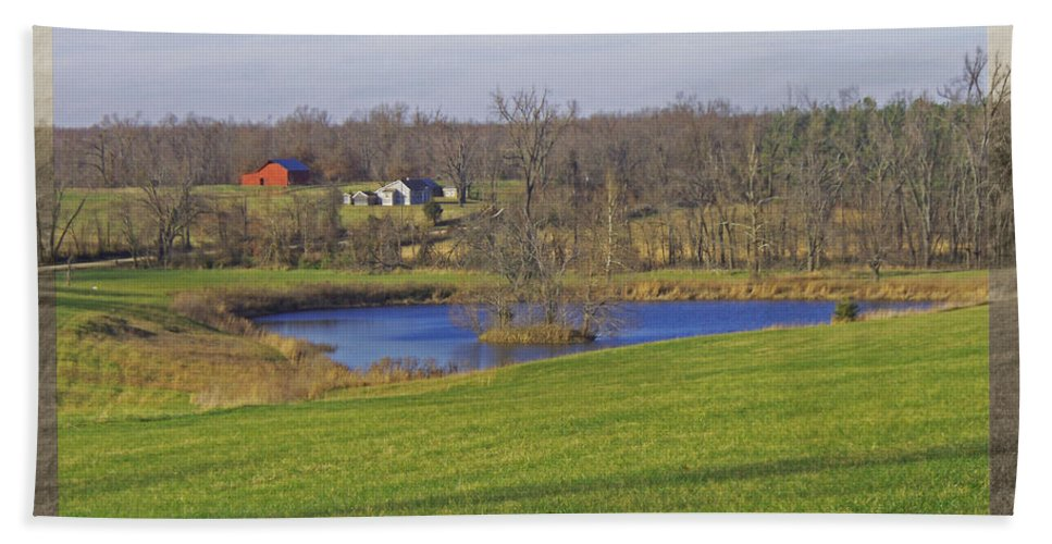 Bath Sheet featuring the photograph Senic So. Missouri by Debbie Portwood