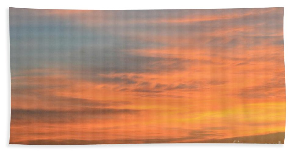 September 27 2012 Sunrise Hand Towel featuring the photograph September 27 2012 Sunrise by Maria Urso