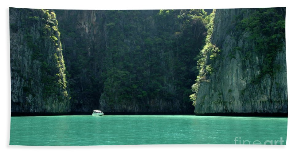 Phuket Bath Sheet featuring the photograph Serenity by Bob Christopher