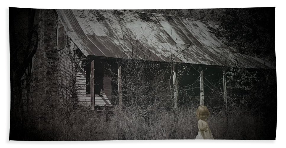 House Bath Sheet featuring the photograph She Doesn't Play Here Anymore by Betty Northcutt
