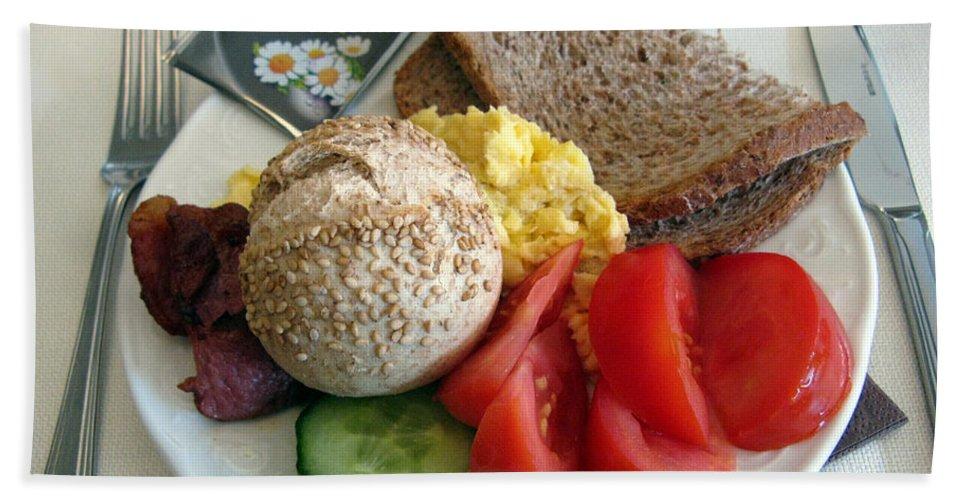 Food Bath Sheet featuring the photograph Simple Pleasures by Ausra Huntington nee Paulauskaite