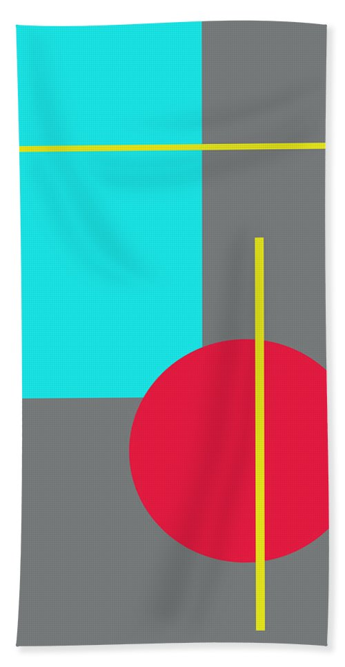 Interior Design Hand Towel featuring the digital art Simplicity by Paulette B Wright