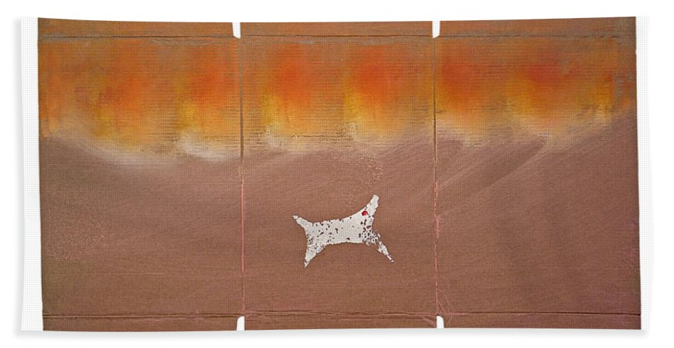 Sky Hand Towel featuring the painting Sky Dive by Charles Stuart