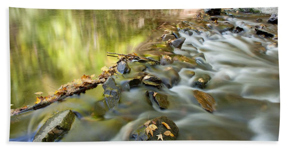 Great Smoky Mountains Bath Sheet featuring the photograph Smoky Mountain Streams Iv by Angie Schutt