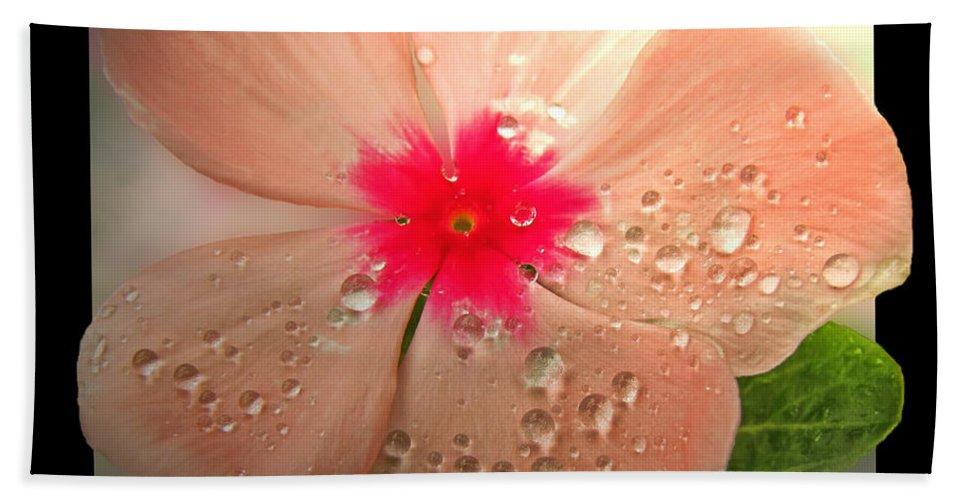 Flower Bath Sheet featuring the photograph So Impatient by Debbie Portwood