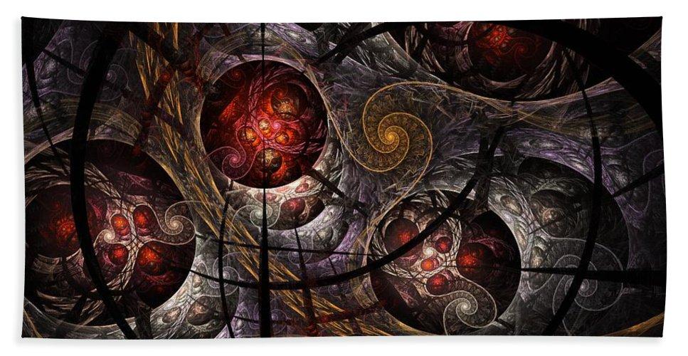 Bath Sheet featuring the digital art Soul Of Osiris by NirvanaBlues
