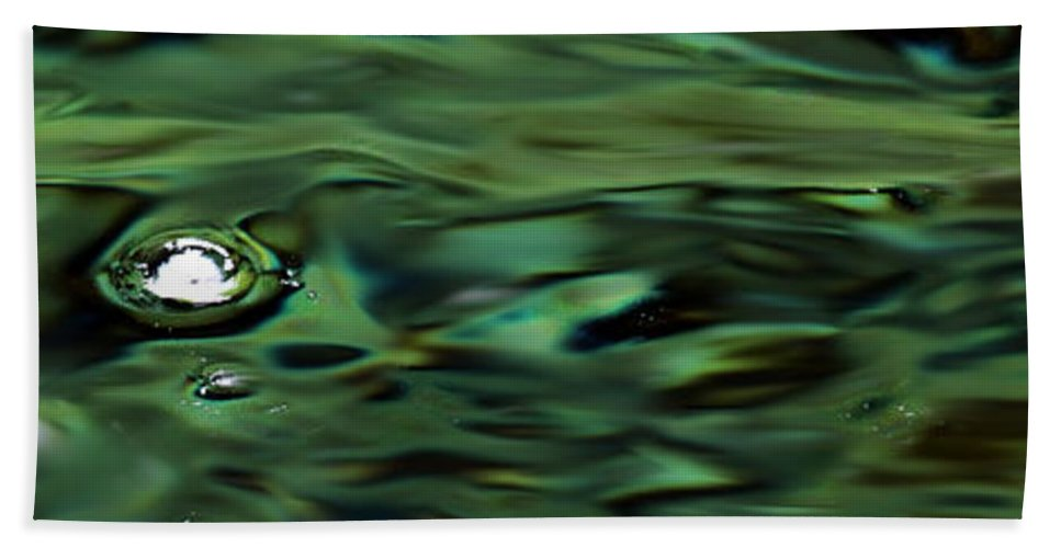 Flowing Water Bath Sheet featuring the photograph Sparkling Waters by Marie Jamieson