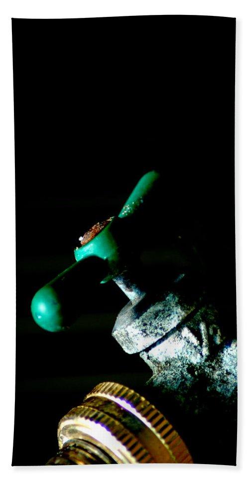 Spigot Hand Towel featuring the photograph Spigot by David Weeks