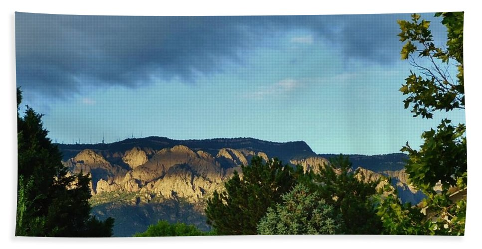 Mountains Bath Sheet featuring the photograph Splendor Of The Mountains by Lois  Rivera