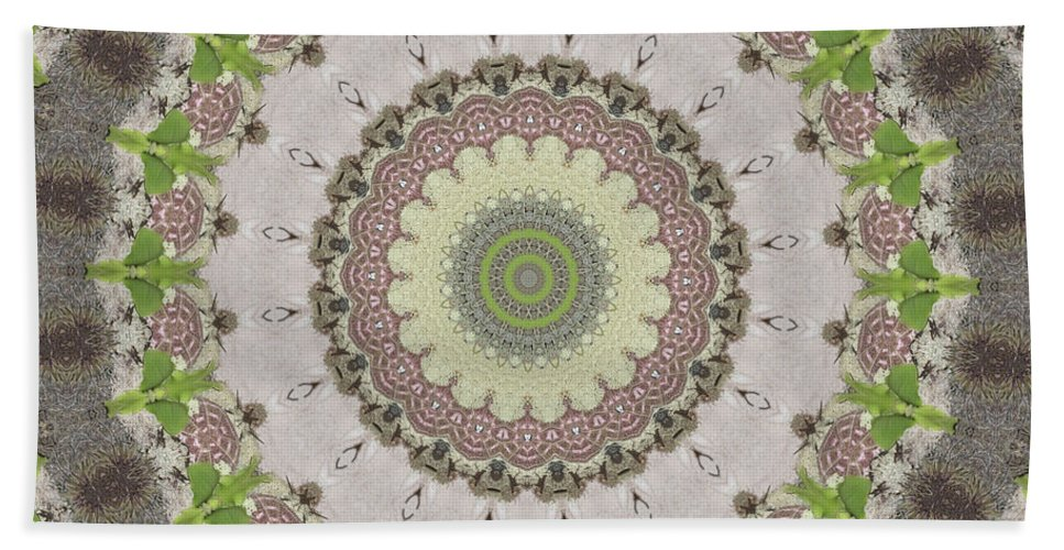 Green Bath Sheet featuring the photograph Sprout by Trish Tritz