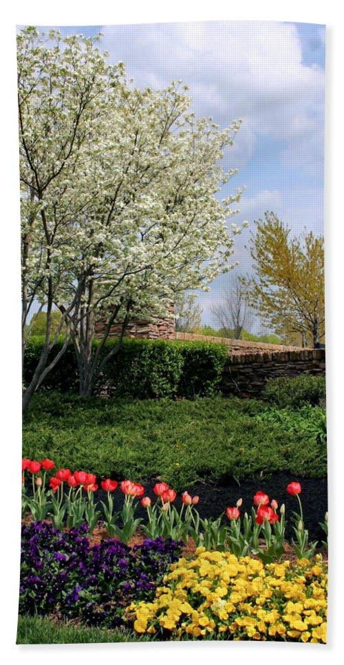Spring Bath Sheet featuring the photograph Sprung Spring by Kristin Elmquist