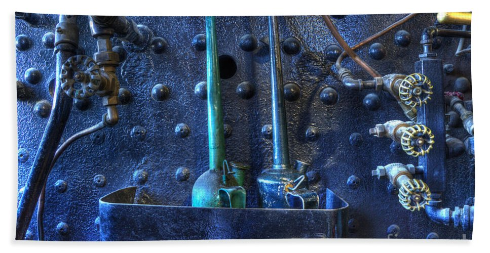 Steampunk Bath Sheet featuring the photograph Steampunk 3 by Bob Christopher