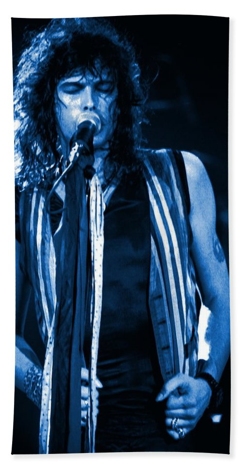 Aerosmith Bath Sheet featuring the photograph Steven In Spokane 17a by Ben Upham