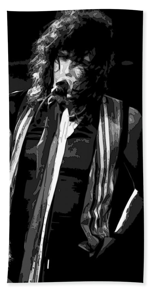 Aerosmith Bath Sheet featuring the photograph Steven In Spokane 18a by Ben Upham