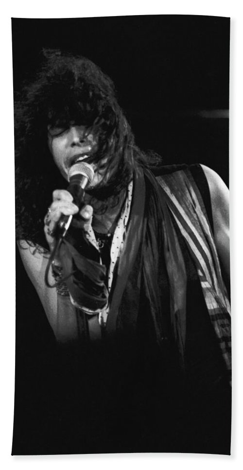 Aerosmith Bath Sheet featuring the photograph Steven In Spokane 5 by Ben Upham