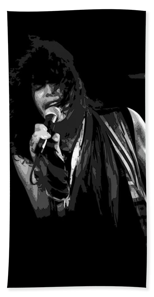 Aerosmith Bath Sheet featuring the photograph Steven In Spokane 5a by Ben Upham