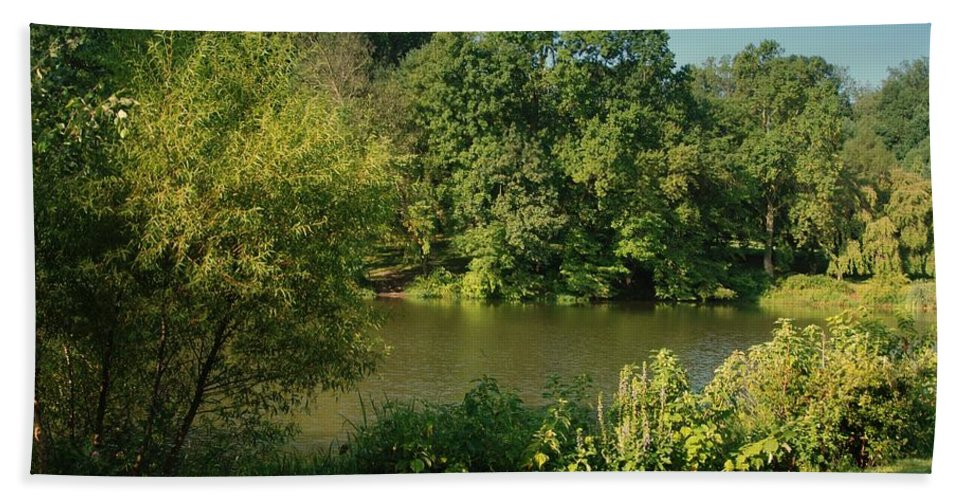 New Jersey Bath Sheet featuring the photograph Summer Happiness - Holmdel Park by Angie Tirado