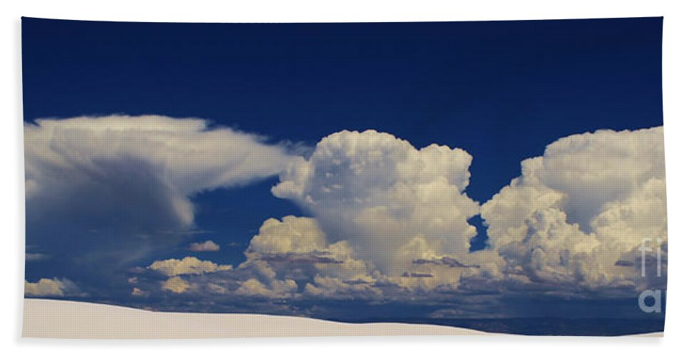 Roena King Bath Sheet featuring the photograph Summer Storms Over The Mountains 3 by Roena King
