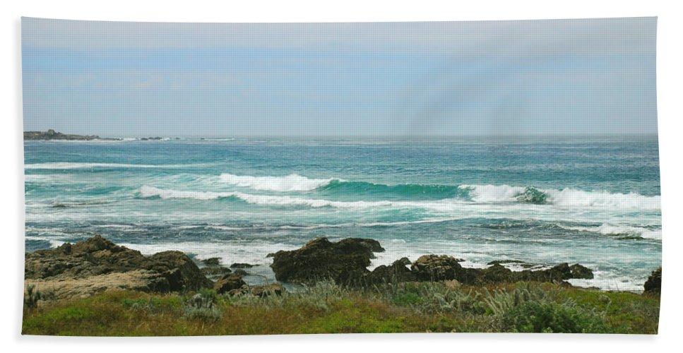 Coastal Bath Sheet featuring the photograph Summer Waters Aqua by Kathleen Grace