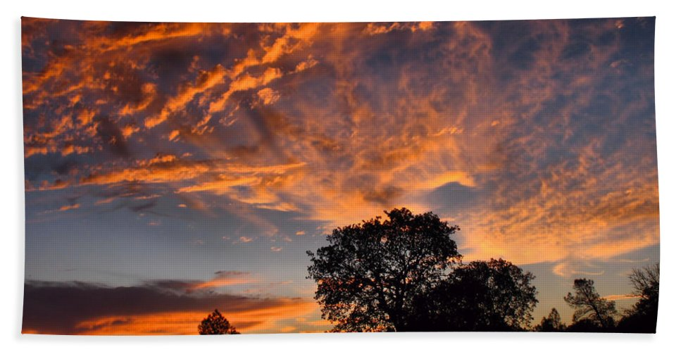 Sunset Bath Sheet featuring the photograph Sunset 07 26 12 by Joyce Dickens