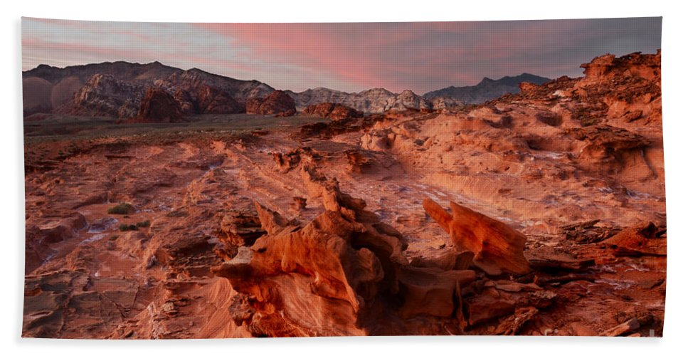 Little Finland Hand Towel featuring the photograph Sunset At Liitle Finland by Bob Christopher