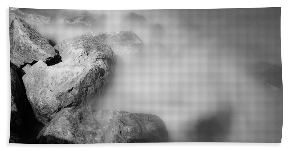 Rocks Framed Prints Bath Towel featuring the photograph Surreal Rocks by Jonah Anderson