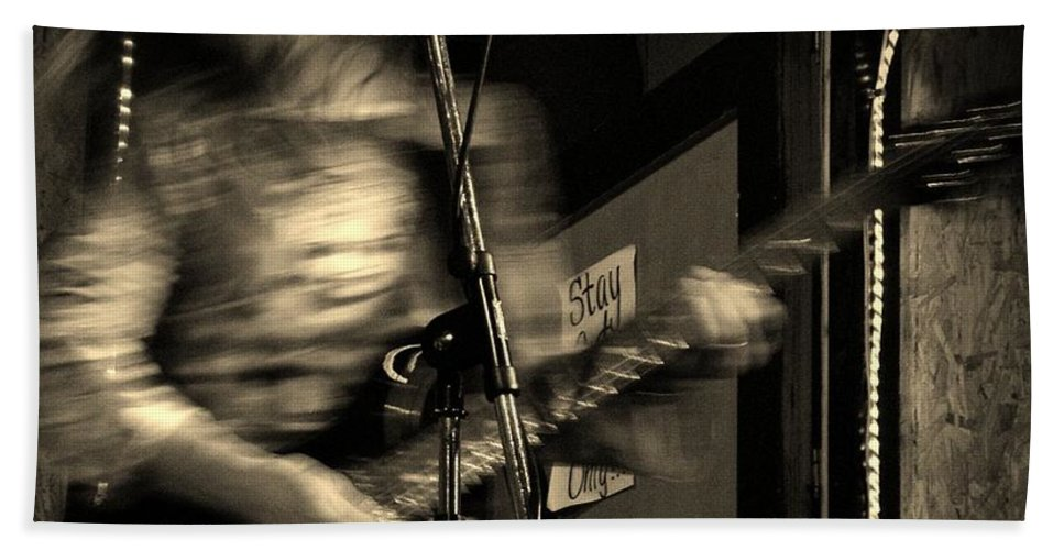 Music Bath Sheet featuring the photograph Susan by Chris Berry
