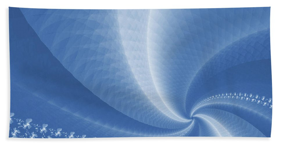Swirls Bath Sheet featuring the photograph Swirls by Susan Candelario