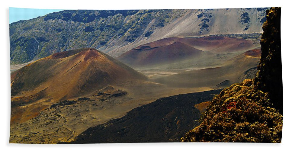Haleakela Hand Towel featuring the photograph The Aftermath of Annihilation by Patricia Griffin Brett