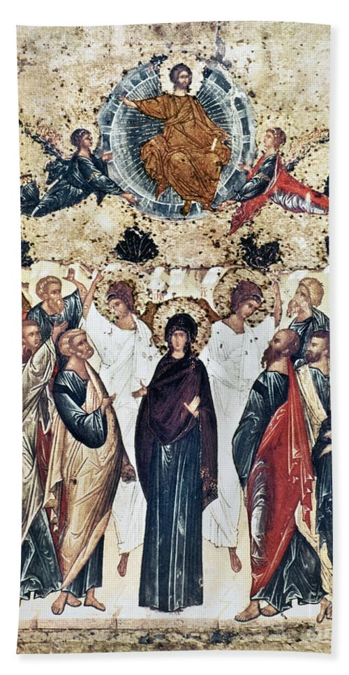 15th Century Hand Towel featuring the photograph The Ascension by Granger