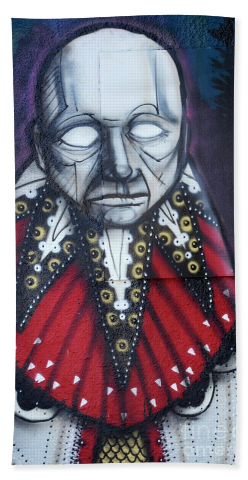 Graffiti Hand Towel featuring the photograph The Chief by Bob Christopher