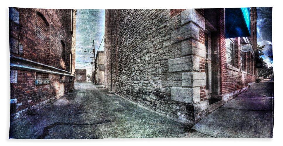 Acrylic Prints Bath Sheet featuring the photograph The Corner Redux by John Herzog