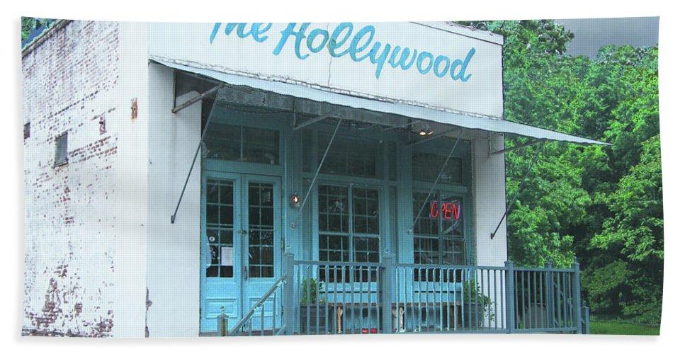 Restaurant Bath Sheet featuring the digital art The Hollywood At Tunica Ms by Lizi Beard-Ward