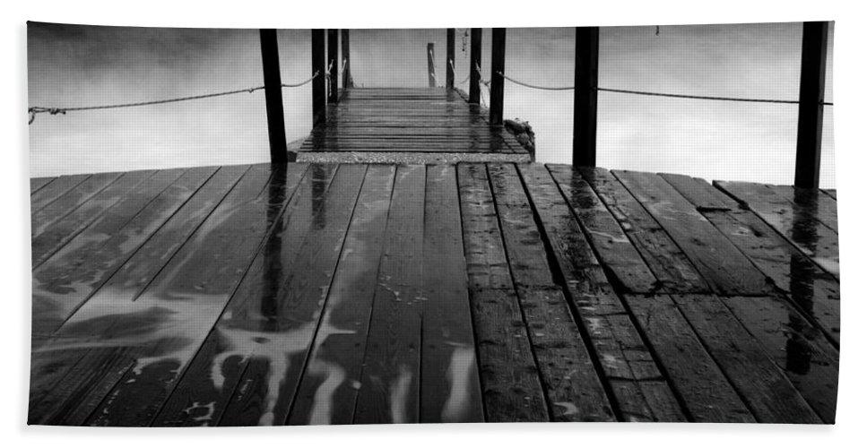 Art Hand Towel featuring the photograph The Pier...protaras by Stelios Kleanthous