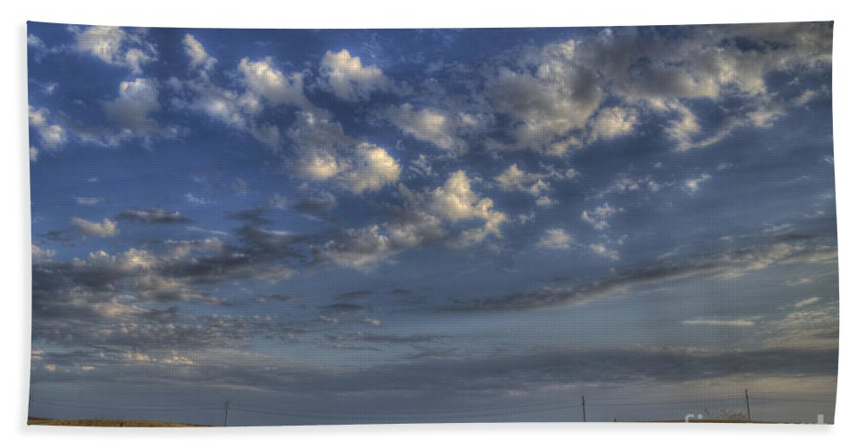 Road Hand Towel featuring the photograph The Road To Nowhere by Jim And Emily Bush