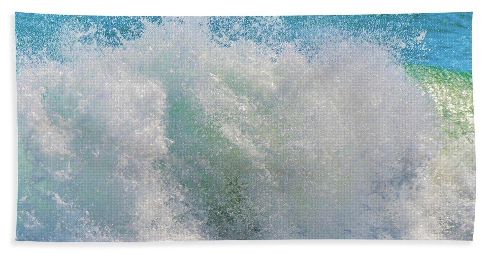 Waves Bath Sheet featuring the photograph The Washing Machine by Shannon Harrington